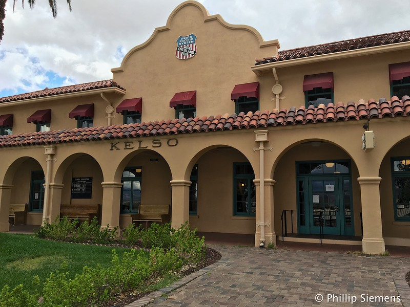 Kelso Station, now Mojave Preserve visitor center