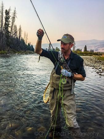 The Salmon River Sawtooths Idaho