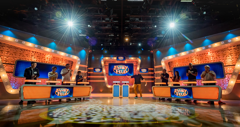 Family Feud. TV Game Show