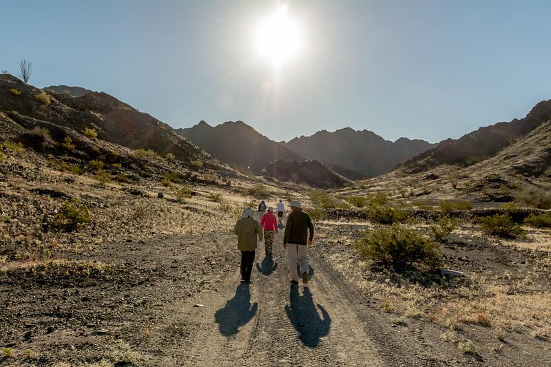 Hikers near El Camino Del Diablo #8
