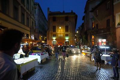 Roma a notte — Róma éjjel