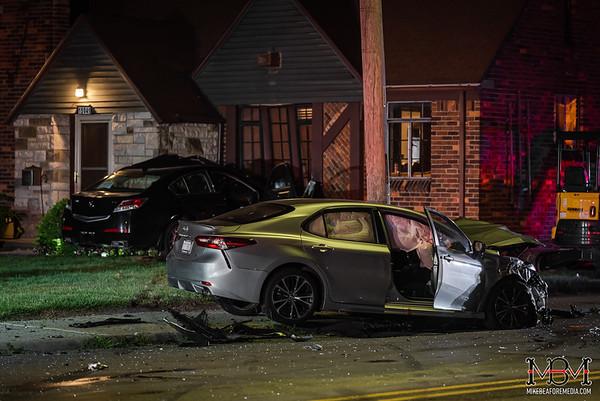 Detroit MI, 2 Vehicle Accident 7-1-2020