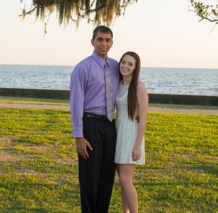 Courtney and Ryan - FHS Homecoming 2012