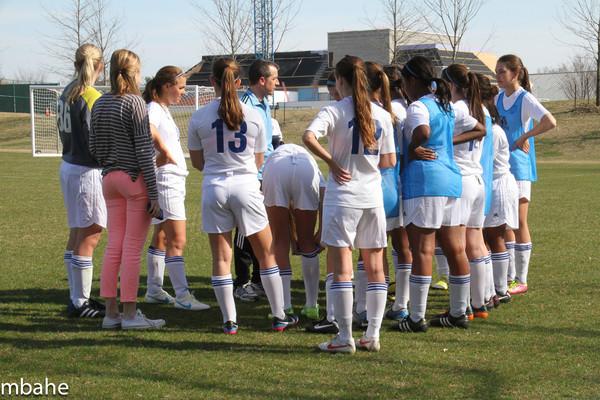 130405 Girls Varsity Soccer v WCA