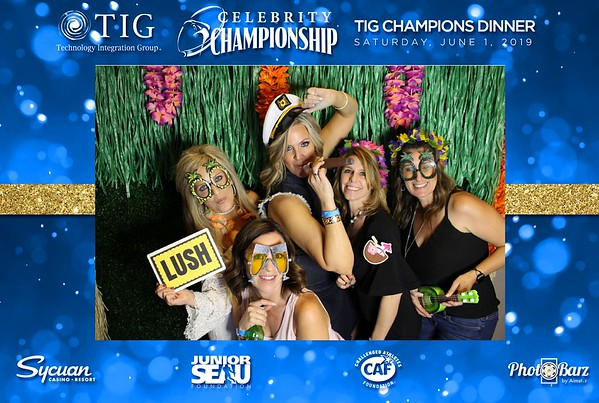 ISM Celebrity Golf Championship Surfin USA Party