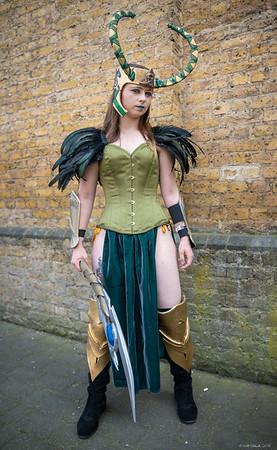 Amber as Loki - MCM London Comic Con - 26th May 2018