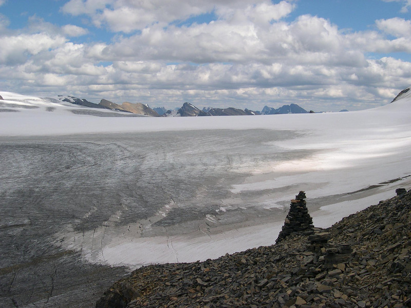 Icefield: I don't remember what it's called.  The map will help.