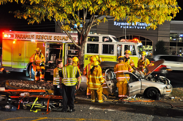 9-26-12 Paramus, NJ Motor Vehicle Entrapment: 197 Route 17