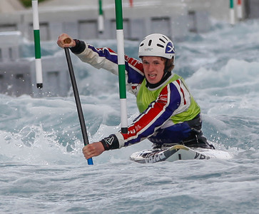 C1 Men - GB Selection Trials 2013 - 2nd Run - Sat - Lee Valley