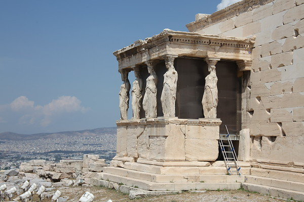 The Acropolis and the Parthenon, Athens Greece - May, 2010