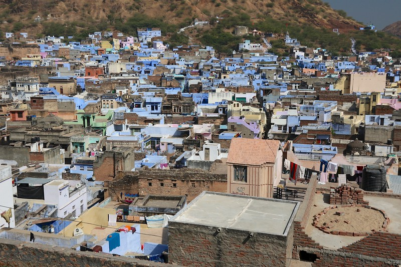Blue houses of Bundi