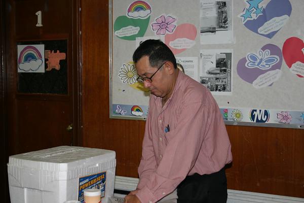 Convivio del Instituto Biblico 2005