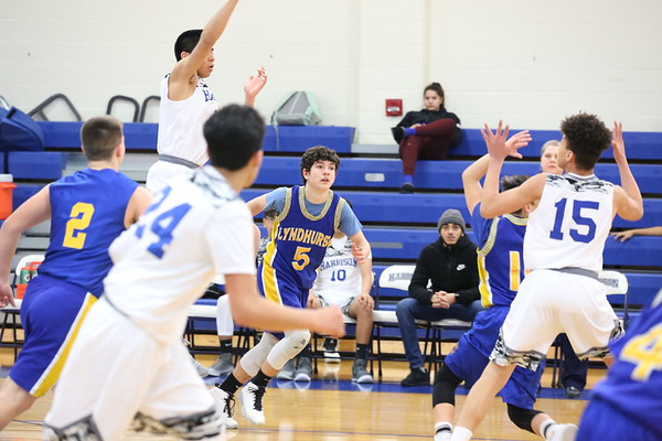 Lyndhurst Freshmen at Harrison 1-15-19