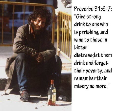 Wine for the Homeless