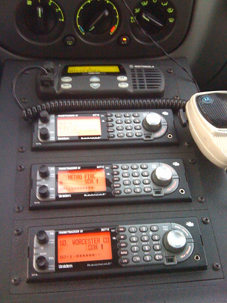 Pic#2/Day#1 - Radio Console In The Truck