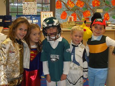 Kindergarten Circles Halloween