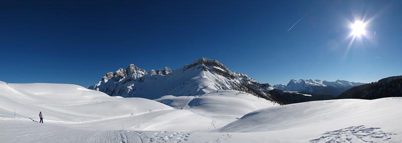 Near Passo Valles - Falcade, Belluno, Italy - March 6, 2011