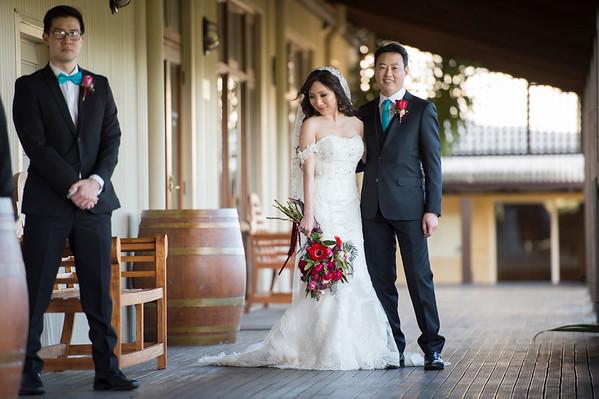 Chris and Mia Lim wedding happy snaps ...