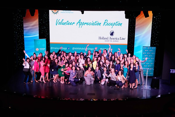 MANA Volunteer Appreciation Holland America 2019