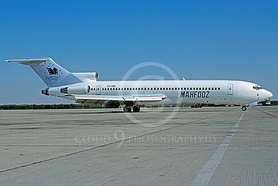 Mahfooz Airline Boeing 727 Airliner PIctures