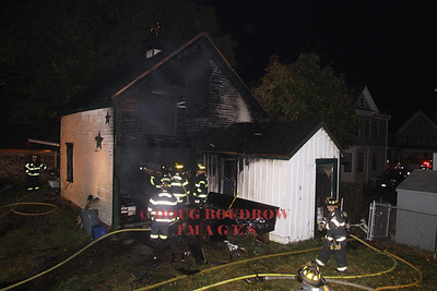 Winthrop, MA - Working Fire, 180 Pauline Street, 10-31-09