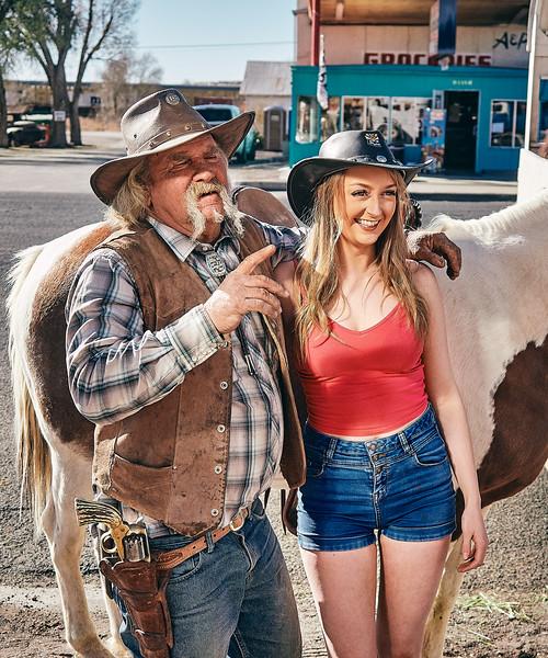 Route 66- Dale, Horse Trainer, Seligman, Arizona