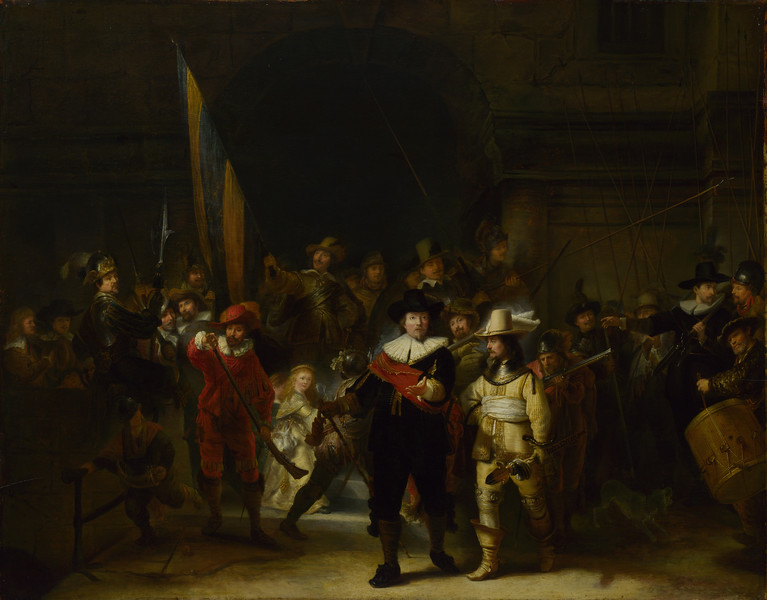 The Company of Captain Banning Cocq ('The Nightwatch')