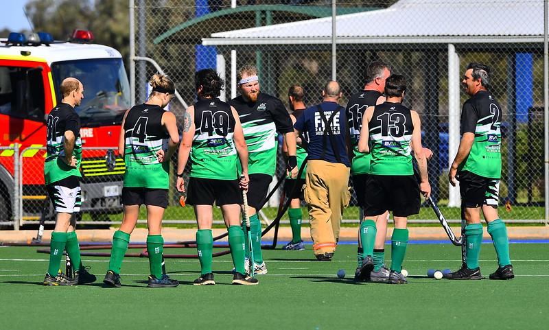 """""""B"""" Men 1st Semi Final Renmark v Waikerie"""
