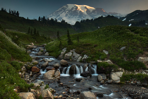 Mount Rainier & Olympic National Parks