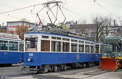 Zurich (CH) • Museum Trams