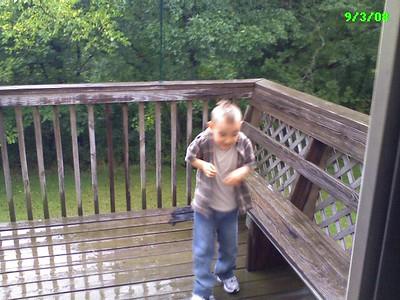 September 2008 Rain play