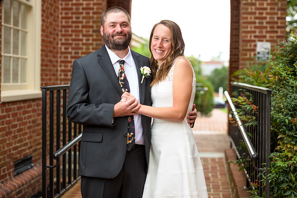 Annie & Clint at Talbot County Courthouse