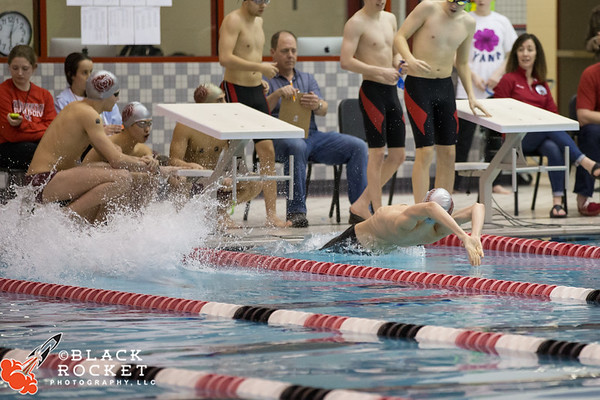 02-15-2018 Boys Swimming Sectionals