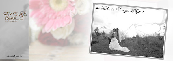 Ed ♥ Glo Wedding Storybook