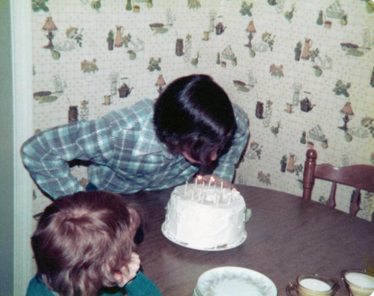 Mark's birthday in Holliston, Mass