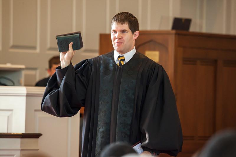 Church Service & Confirmation