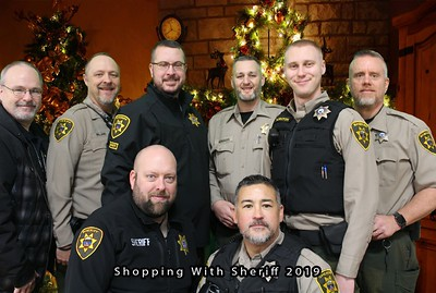 Shopping With The Sheriff Photobooth 12.14.2019