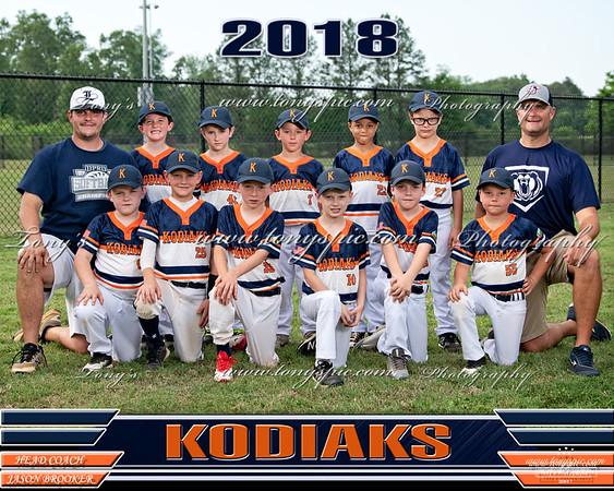 Jason Brookers Kodiaks  14 May 2018