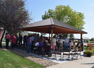 Janna Korrey Memorial Pavilion Dedication