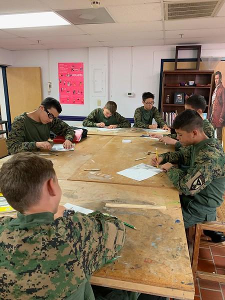 Art Class - 8th Grade Principles of Design