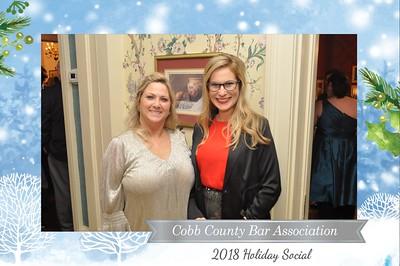 Cobb County Bar  - 12-13-2018