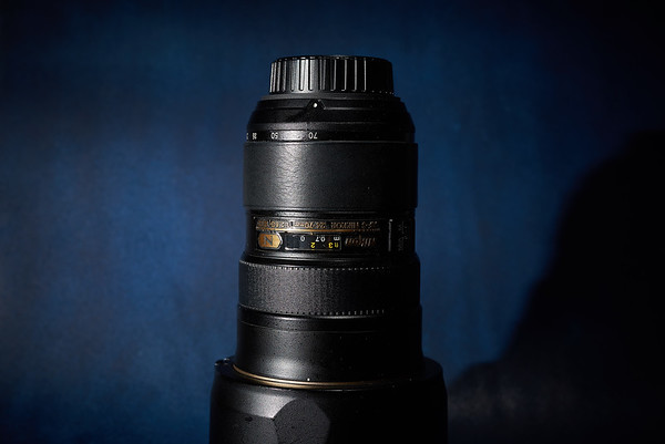 About leather on the lens