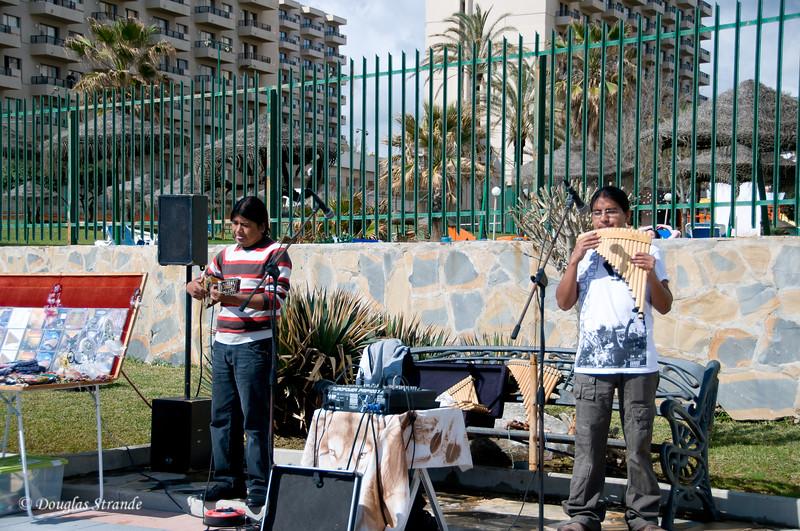 Sat 3/12 in Torremolinos (Costa del Sol): Street musicians