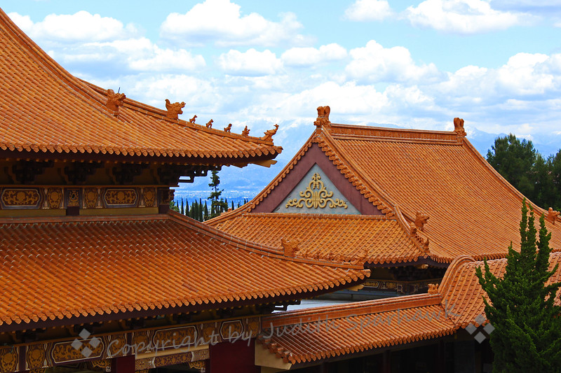 Temple Roof Lines - Judith Sparhawk