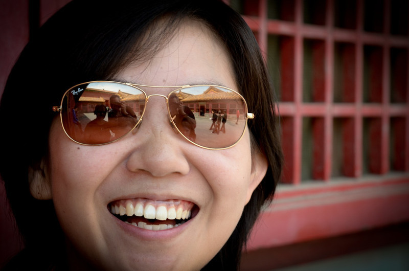 Our guide Susie - we saw the city of Beijing through her eyes!