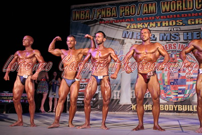 2013 INBA World - Bodybuilding Open Men Classes
