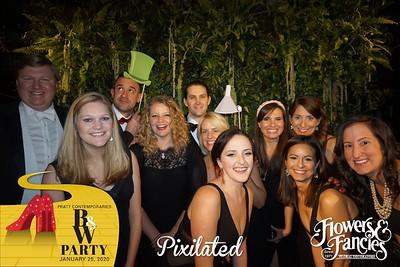 PixiCAM #1 | Pratt Contemporaries Black & White Party 2020 01.25.20