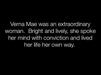 Verna Mae Movie