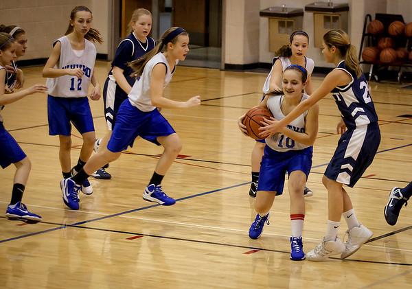 WMS Girls 6th Grade vs. Garrett