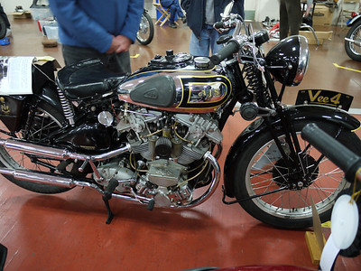 Clubman's All British Motorcycle Show 2011, Show floor photos